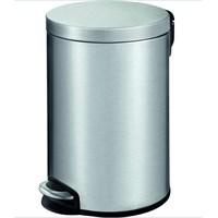 Primanova Paslanmaz Çelik Softclose Pedallı Çöp Kovası 12Lt D-15325