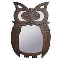 House2home Antik Döküm Koleksiyon - Baykuş Ayna