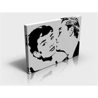 Arte80 - Kiss Audrey - Kanvas Tablo XL