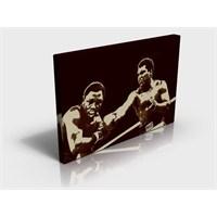 Arte80 -Muhammed Ali Wins - Kanvas Tablo XL