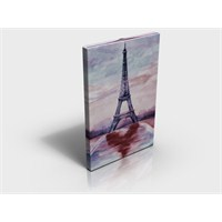 Arte80 - Oil Eiffel - Kanvas Tablo XL