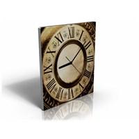 Arte80 - Antique Clock II - Kanvas Tablo Saat