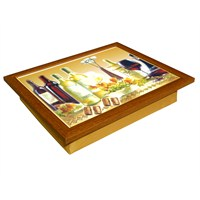 T-Tray Keyif Tepsisi Şarap Keyfi