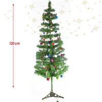 Artte 120 Cm Yılbaşı Ağacı Seti 42 Parça Süs