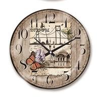 Time Gold Royal Color Duvar Saati İstanbul