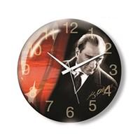 Time Gold Sera Duvar Saati Atatürk