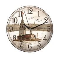 Time Gold Sera Duvar Saati Kız Kulesi