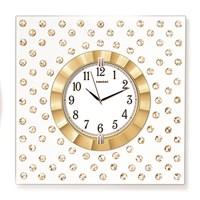 Time Gold Taşlı Mdf Duvar Saati