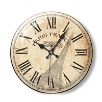 Time Gold Royal Color Duvar Saati Paris