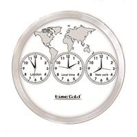 Time Gold 3'Lü Dünya Saati
