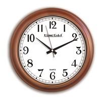 Time Gold Ahşap Görünümlü Duvar Saati