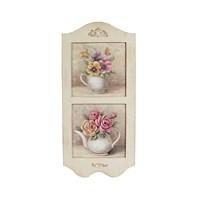 Noble Life Fincan İçinde Pembe Çiçek Tablo