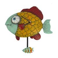 Balık Figürlü Saat