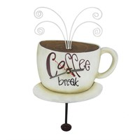 Kahve Fincanı Figürlü Saat