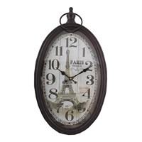 Paris Temalı Duvar Saati
