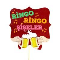 """Artte """" Ringo Ringo Şişeler"""" Yılbaşına Özel Konuşma Balonları"""