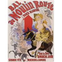 Karton Afiş - Place Blanche Moulın Rouge 24 X 32 Cm