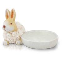 Seramik Tavşan Tabak 22Cm