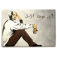 Urbangiftalbert Eınsteın Just Google It Photo Magnet 6*9Cm