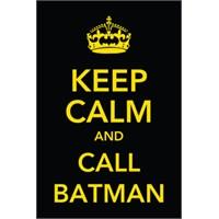 Urbangiftkeep Calm And Call Batman Photo Magnet 6*9Cm