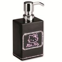 Hello Kitty Strass Black Sıvı Sabunluk