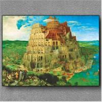 Tablom Büyük Babel Kanvas Tablo
