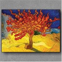 Tablom Kırmızı Ağaç Kanvas Tablo