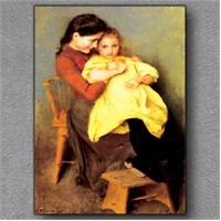 Tablom Anne Kız Kanvas Tablo