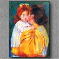 Tablom Anne Öpücüğü Kanvas Tablo