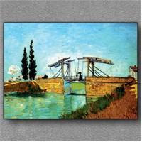 Tablom Langlois Köprüsü Kanvas Tablo
