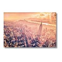 Tictac New York - Kanvas Tablo - Büyük Boy