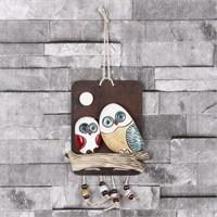 İhouse Baykuş Figürlü Duvar Süsü