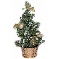 Süslü Yılbaşı Masa Üstü Çam Ağacı 20 Cm