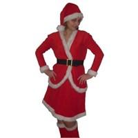 Ceketli Noel Anne Kostümü S Beden