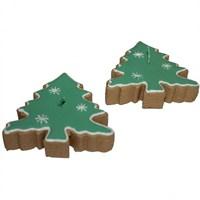Kurabiye Şekilli Çam Ağacı Mumları 2 Adet