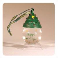H&H Askılı Kar Küresi - Happy New Year