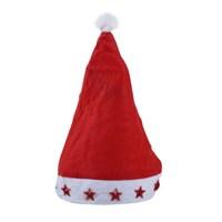 Carda Yılbaşı Işıklı Noel Baba Şapkası