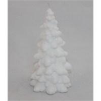 Kankashop Dekoratif Mum Ağaç Beyaz Küçük
