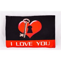 Kankashop Dekoratif Yastık I Love You