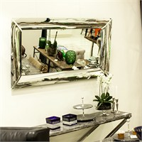 Altıncı Cadde Stark Dekoratif Ayna 140X68 Cm