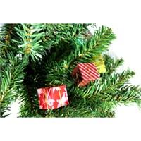 Artte Renkli Hediye Paketleri Ağaç Süsleri 12 Li