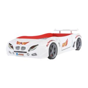 özaslan ambalaj otomobby r1 arabalı beyaz karyola