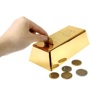 tvet altın külçe kumbara