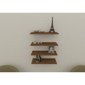 navdecoration troya duvar rafı ve kitaplık - ceviz - ceviz