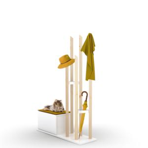 rafevi katana portmanto sarı