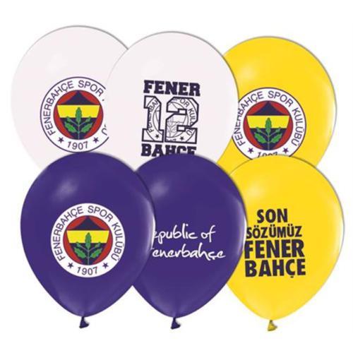 Tahtakale Toptancısı Balon 4+1 Fenerbahçe Pastel Renk (20 Adet)