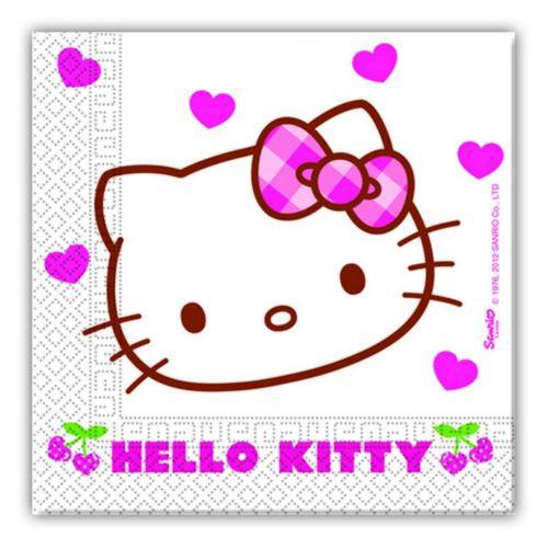 Tahtakale Toptancısı Kağıt Peçete Hello Kıtty Hearts (20 Adet)