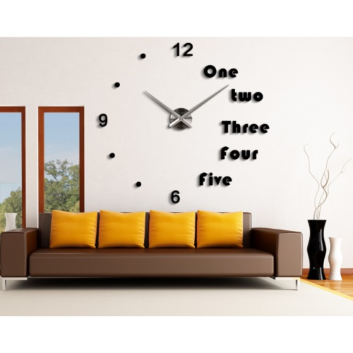 Yeni Nesil 3D Duvar Saati