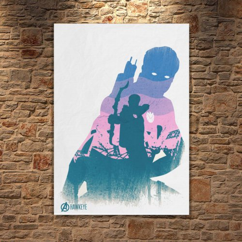 Albitablo Poster Love Marvel Hawkeye Kanvas Tablo