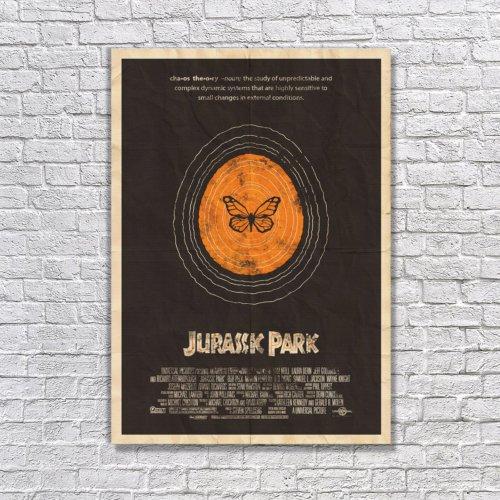 Albitablo Poster Love Jurassic Park1 Kanvas Tablo